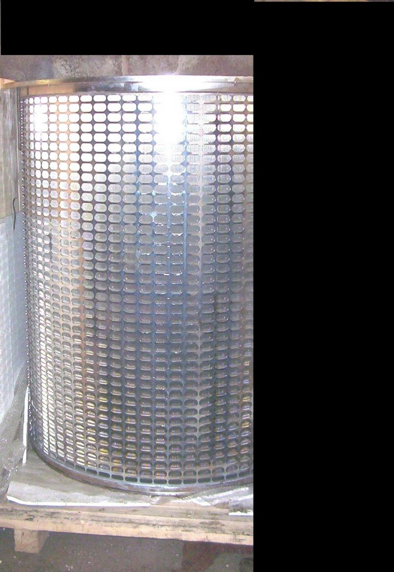 1200mm dia Screen used in Paper Industry